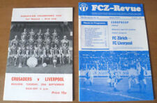 European Cup Football Programme Collections/Bulk Lots
