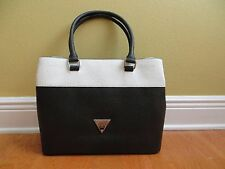 NWT Guess Stanwood Ostrich-Embossed Purse Handbag Satchel