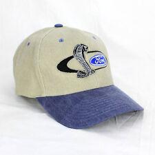 Ford Pflaume Cobra Snake Logo US Muscle Car Basecap Mütze Trucker Baseball Cap