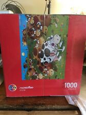 1000 pcs jigsaw puzzle: Mordillo - iCow (Cartoon, Animals, Art) (Heye 29410)