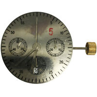 Asian Automatic Chronograph Movement  Compatible ETA 7750 7753 White Date at 6H
