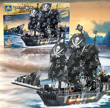Black Pearl Pirates of the Caribbean Pirate Ship Building Blocks 1184pcs ToyGift