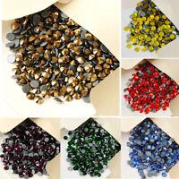 1440pcs  Iron On Hotfix Crystal Rhinestones Many Colors SS10 SS16 Strass Crystal