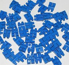 LEGO LOT OF 50 PLAIN BLUE MINIFIGURE PANTS LEGS BOY GIRL TOWN CITY PARTS
