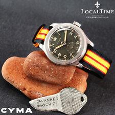 1940's CYMA [Swiss] Dirty Dozen WWW MOD WW2 Vintage Military Watch 15j Cal. 234