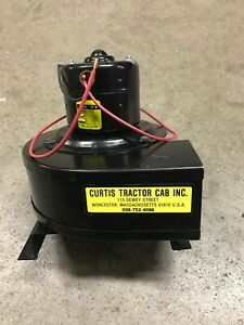 Cab Blower Motor Assembly CURTIS TRACTOR CAB INC KUBOTA JOHN DEERE NEW HOLLAND