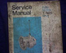 Eaton Fuller T-905 series Transmission Workshop Repair manual, service book