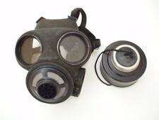 Englishe C3 Gasmaske  Größe Medium  Nato Filter gas mask schwarz dänische