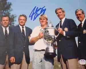 John Daly Signed 8x10 Photo Golf PGA PSA COA Autograph CIGARETTE IN THE MOUTH