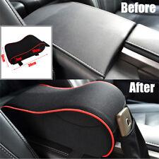 Car Seat Armrest Cushion Memory Foam Center Console Lid Cover & Cellphone Pocket