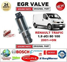 FOR RENAULT TRAFIC 1.9 dCi 80 100 2001-ON Electric EGR VALVE 5PIN with GASKETS