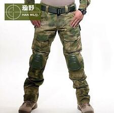MENS  TACTICAL OVERALLS CAMO PANTS MILITARY SECURITY CARGO COMBAT TROUSERS NEW