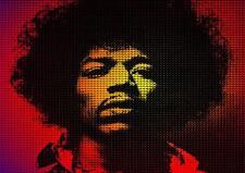 A3 Jimi Hendrix Poster 3