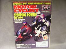 July 92 Motor Cyclist Guide: Antitheft Devices 20 QUESTIONS Performance Riding