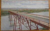St. Paul, Minnesota MN 1910 Postcard - 'High Bridge' - Minnesota Minn