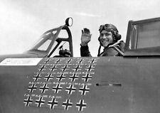 WWII B&W Photo Col. Robert Johnson P-47 Ace  WW2 World War Two USAAF  /1077