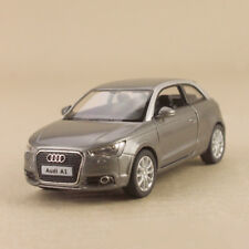 Model Car Audi A1 2010 Grey 1:32 11.5cm Die-Cast Pull-Back Doors Open Detailed