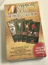 Tiger Woods Rookie  1997/98 GSV Champions Of Golf Masters Box Set - Sealed