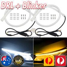 2x 30cm LED Strip Light DRL Blinker sequential Thin Daytime Running Car Headligh