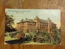 Vintage Postcard New Ceres Hall At Agricultural College, Fargo, N. Dak.