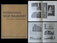INTERNATIONALE NEUE BAUKUNST - 1927 - GROPIUS, MIES VAN DER ROHE, TAUT, POELZIG