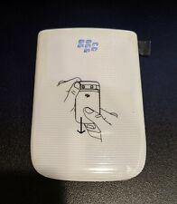 Blackberry Torch 9800 9810 Battery Door Back Cover White