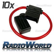 10x Splash Proof 100A 12V 24V Inline Maxi Blade Fuse Holder 8AWG Car Van Wiring