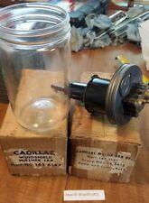 NOS Cadillac 1950's Vintage Wiper Washer Jar Glass Bottle Fluid Pump Accessory
