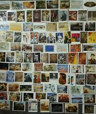 LOT OF 100 ART POSTCARDS OF 20th CENTURY PAINTINGS