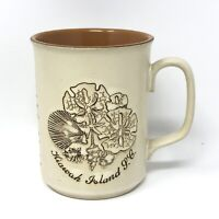 Vintage KIAWAH SC South Carolina Legend of the Sand Dollar Coffee Tea Mug JAPAN