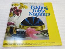 FOLDING TABLE NAPKINS  GUC