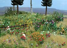 BUSCH 1258 Blumen-und Pflanzen-Set H0 #NEU in OVP#