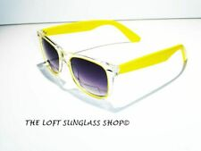 Sunglasses Primary Color Eyewear Style High Quality Lenses Clear Frame RBTT Yell