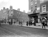 "1912 Dublin, Ireland Vintage Photograph 8.5"" x 11"" Reprint"