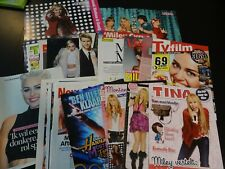Miley Cyrus  28 full pages   Clippings