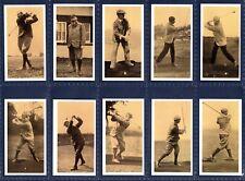 New listing Brindley OLD GOLFING GREATS - 1988 SET