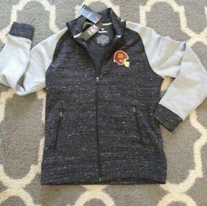 MEDIUM NFL Fanatics Washington FOOTBALL Team Redskins FULL ZIP Men's sweatshirt