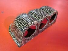UNIVERSAL Carbon Fiber made with Kevlar Triple Dash gauge pod for Civic RX7 etc