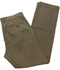 J.CREW Urban Slim Men's 34X34-33 Khaki Broken-In Chino Pants