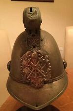 An old original  Plated Officers, Fireman Helmet, Merryweather Pattern.