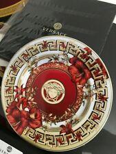 VERSACE BLOOMS PLATE MEDUSA CHRISTMAS PRESTIGE GIFT ROSENTHAL NEW BOX SALE