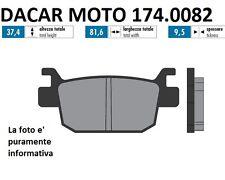 174.0082 PLAQUETTE DE FREIN ORIGINAL POLINI HONDA SH 125i ABS à partir de 2013->