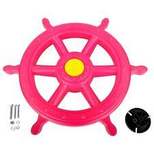 Swing Set Stuff Inc. Ships Wheel Pink toy boy girl fun outdoor playground 0230