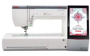 Janome MC15000 Horizon Quilt Maker Memory Craft 15000