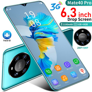 2021 Factory Unlocked Android Cheap Cell Phone Smartphone Dual SIM Quad Core New