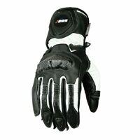 Motorradhandschuhe Race Leder Motorrad Herren Damen Handschuhe von B:O:S