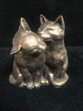 Paul Jenkins Cat Figurine Two's Company (Aa