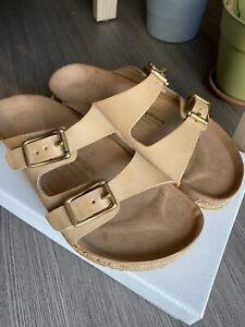 YUKETEN Arizonian Natural Vegan Leather Buckle Sandals 42 Hender Scheme Monitaly