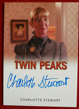 David Lynch's TWIN PEAKS  - CHARLOTTE STEWART - Autograph Card, Rittenhouse 2018
