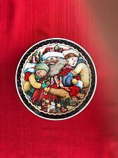 Mary Engelbreit Santa'S Cookie Plate 7�